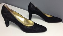 Bruno Magli Man Made Black Pumps