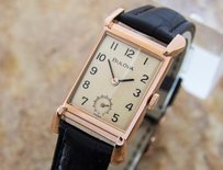 Bulova Bulova 1940s Mid Manual Dress Watch Rose Gold Filled D57