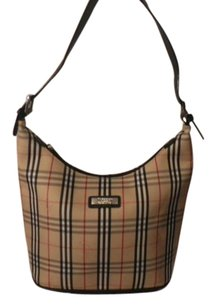 Burberry Blue Label Plaid Shoulder Bag
