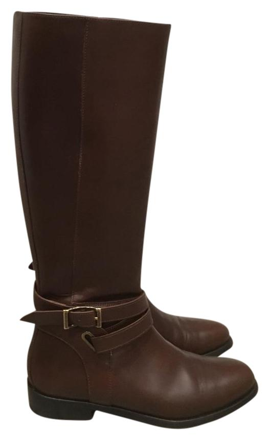 Burberry Brown Adelaide Riding Boots/Booties Size US 8 Regular (M, B)