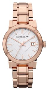 Burberry BU9104 Burberry Women's 'The City' Rose tone Stainless steel Watch