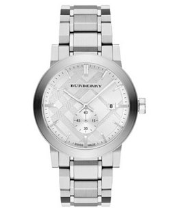 Burberry BU9900 42mm Men's Burberry Steel Sapphire Watch