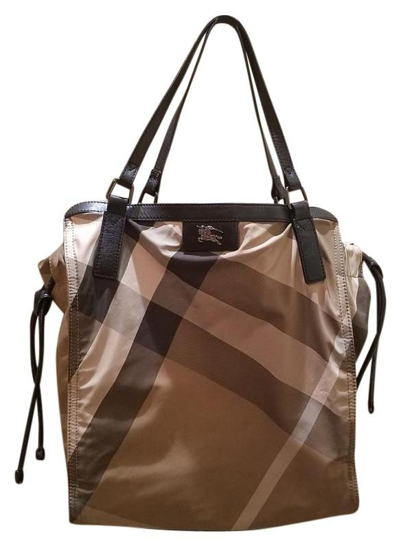 Buy burberry nylon shopper tote bag  Free shipping for worldwide ... 8b57d460c2b74