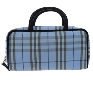 Burberry BURBERRY Nova Check Hand Bag Cosmetic Pouch