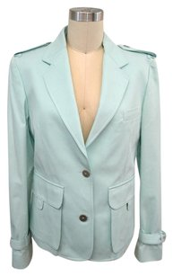 Burberry London Aqua Blue Jacket