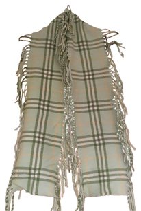 Burberry London Burberry fringe scarf