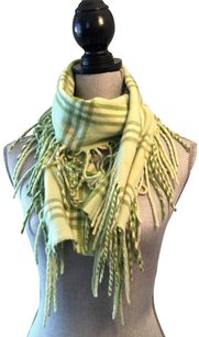 Burberry London Burberry Check Fringe Scarf