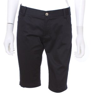 Burberry Designer Bermuda Shorts Black