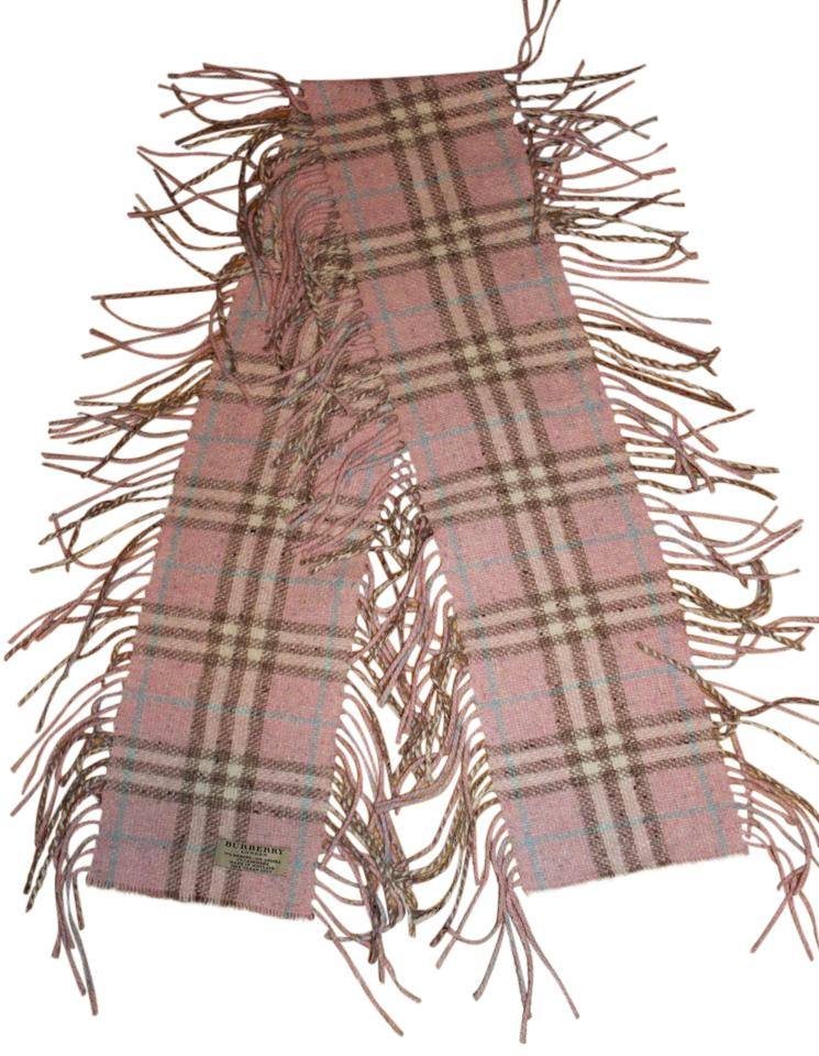 burberry pink multi made in scotland check