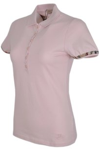 Burberry Women's Polo T Shirt Pink