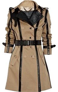 Burberry Prorsum Burberry Runway Leather Trench Coat