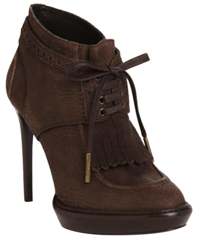 Burberry Prorsum Taupe Howcroft Suede Ankle Eu 39 Boots/Booties Size US 9 Regular (M, B)