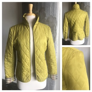 Burberry Quilted Green Jacket