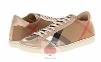 Burberry Sneakers Iconic Tan Tartan Plaid & Check Athletic