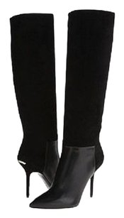 Burberry Stiletto Italy Black Boots