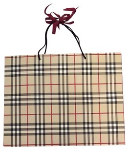 Burberry Vintage Burberry Shopping Bag