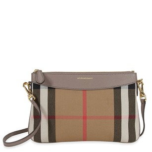Burberry Women's 4018818 Grey Clutch
