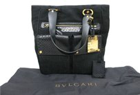 BVLGARI 2007 Tote in Black