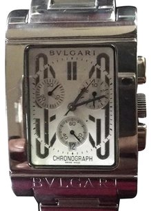 BVLGARI 50% Off Flush Sale!!!Bvlgari Rettangolo Chronograph Mens Watch