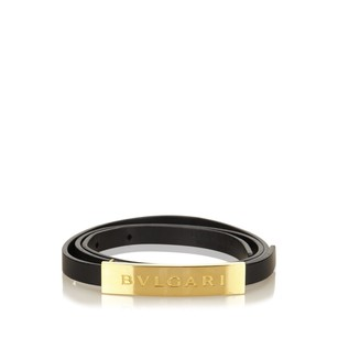 BVLGARI Accessories,belt,black,gold,6dbvbl002