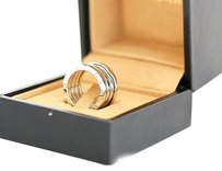 BVLGARI BVLGARI 18K White Gold B-Zero 1 Ring US SIZE 5.25 W/Box