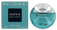 BVLGARI BVLGARI AQUA MARINE (BULGARI) ~ Men's Mini EDT .17 oz