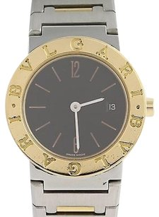 BVLGARI Bvlgari Bb26sgd Mens Watch 18k Stainless Steel Battery 1 Year Warranty