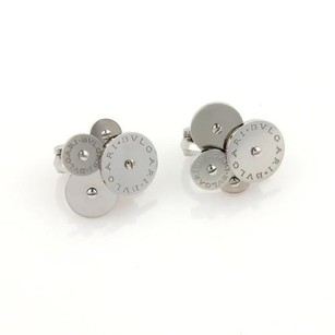 BVLGARI Bvlgari Cicladi Cluster Discs 18k White Gold Stud Earrings