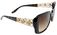 BVLGARI Bvlgari Limited Edition Rare Women's Flower Swarovski Sunglasses