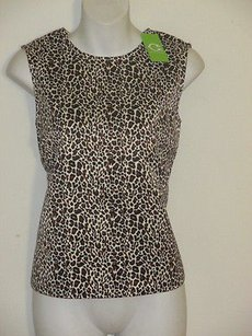 C. Wonder Classic Cheetah Sleeveless Shell 00 Sweater