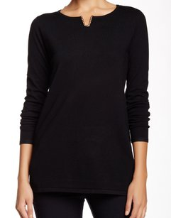 Cable & Gauge Knit Long Sleeve Top