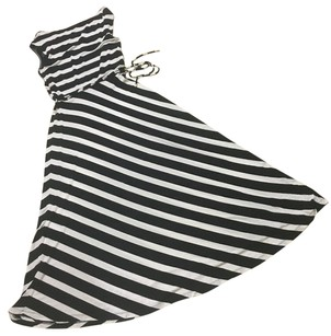 Black/white Maxi Dress by Calvin Klein