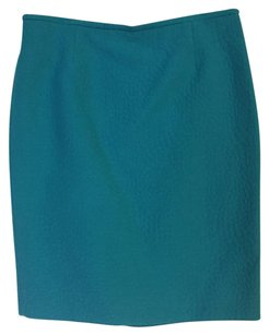 Calvin Klein Pencil Work Office Skirt Green
