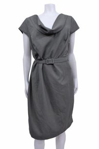 Calvin Klein Womens Belted Sheath In Dress