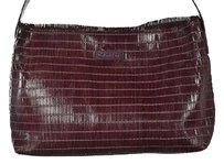 Calvin Klein Womens Burgundy Shoulder Bag