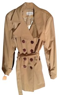 Calvin Klein Trench Nwt Belted Tan Rain Shopmycloset Style Trench Coat