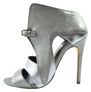 Camilla Skovgaard Womens Antracite Front Wing High Heel Ankle Sandal Pewter Pumps