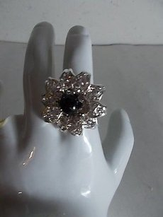 Cära Couture Jewelry Flower Ring