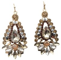 Cära Couture Jewelry-RESERVED for FRANCE G Statement Earrings