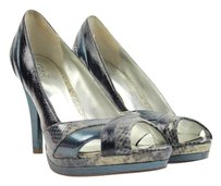 Carlos by Carlos Santana Blue Beige Pumps