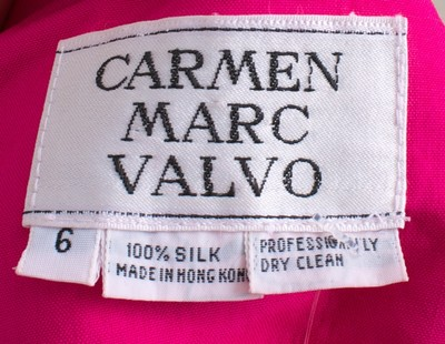 Carmen Marc Valvo Halter Dress