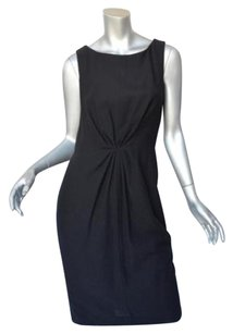 Carolina Herrera short dress Blacks Wool Sleeveless Lbd 0 on Tradesy