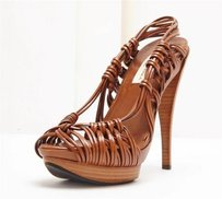 Carolina Herrera Brown Pumps