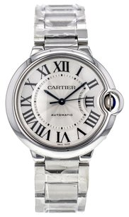 Cartier Ballon Bleu 36mm W6920046 Stainless Steel Automatic Watch CRTSBB27