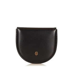 Cartier Black,coin Pouch,leather,others,6hcaco002