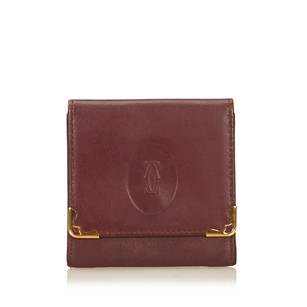 Cartier Bordeau Coin Pouch Leather Others 6hcaco004