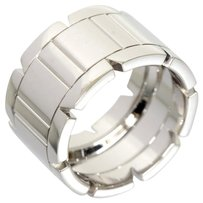 Cartier Cartier 18K White Gold Tank Francise Large Ring LM US5 EU49 W/Box