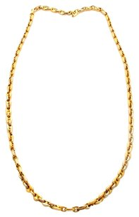 Cartier Cartier 18k Yellow Gold Rolo Chain Necklace.