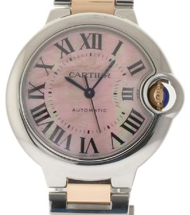 Cartier Cartier 18K/SS Ballon Bleu Mid-size Ladies MOP dial Watch