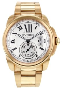 Cartier Cartier Calibre W7100018 42mm 18K Rose Gold Men's Watch Mint Box and Papers CRTCR42